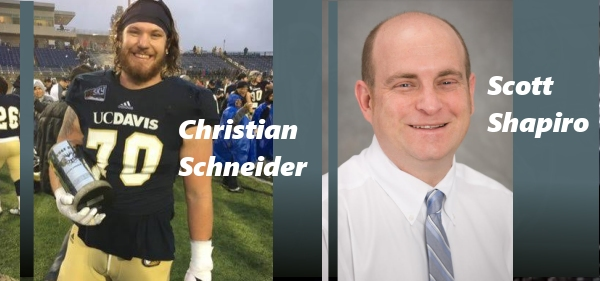Cleveland Browns' Christian Schneider and Brisnet's Scott Shapiro